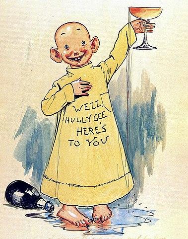 The Yellow Kid: el primer cómic de la historia.