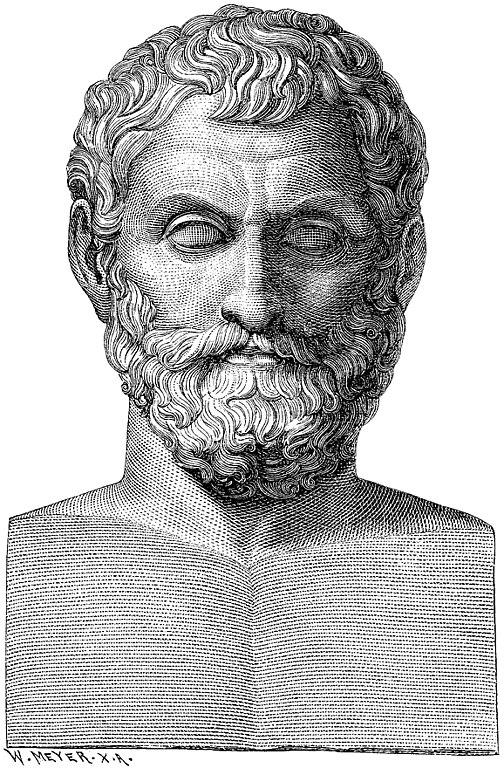 Los Siete Sabios: Tales de Mileto.