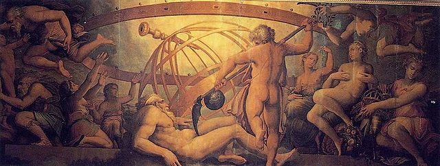 Zeus y la conquista del Olimpo: La castración de Urano.