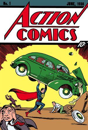 Primer cómic de Superman