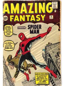 El debut de Spider-Man