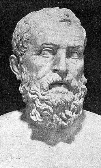 Los Siete Sabios: Solón de Atenas.