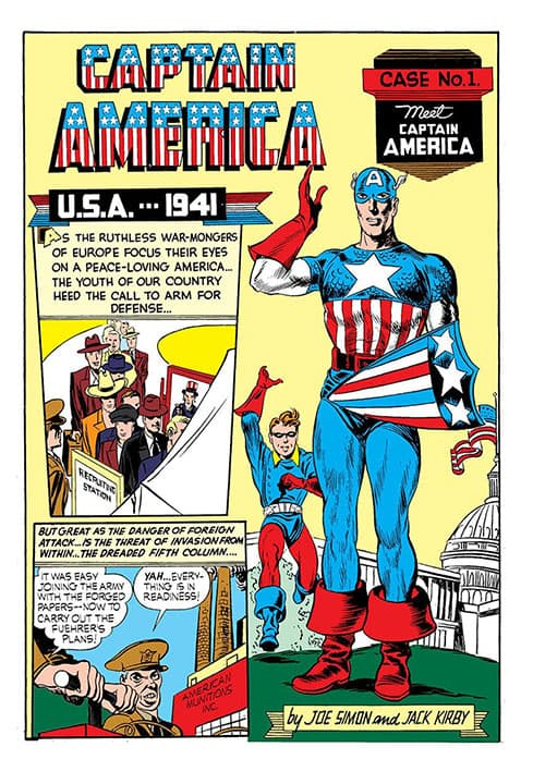 Primer número del Capitán América