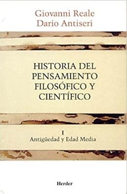 Libro de Filosofía Antigua Historia del Pensamiento Filosófico y Científico