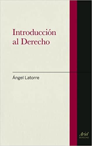 Portada Libro Introducción al Derecho