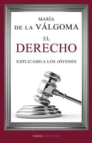 Portada Libro El Derecho Explicado a los jóvenes