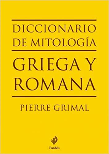 diccionario de mitologia griega y romana
