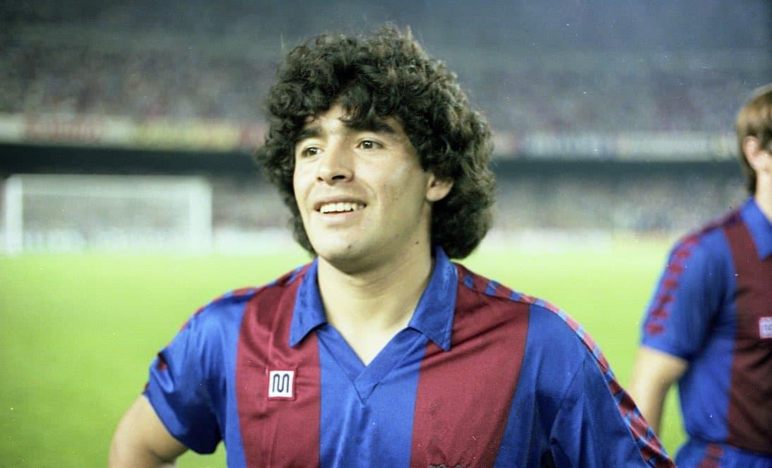 Diego Armando Maradona en el Barcelona