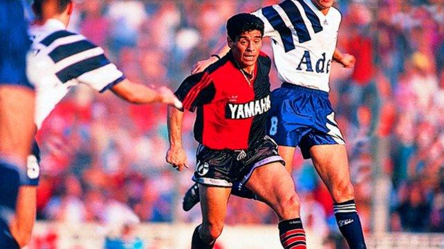 Diego Armando Maradona en Newell's Old Boys de Rosario