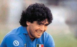 Diego Armando Maradona en el Napoli