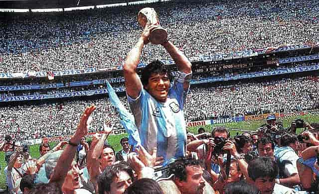 Biografía de Diego Armando Maradona