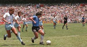 Diego Armando Maradona en la Selección Argentina