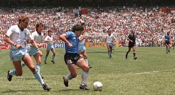 Gol de Maradona en la Selección Argentina a Inglaterra