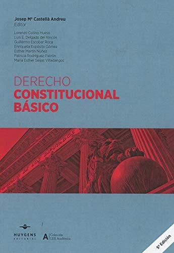 Derecho Constitucional Español Manuales
