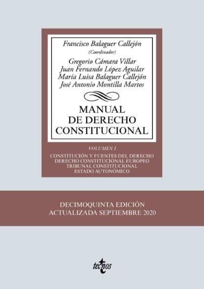 Libros de Derecho Constitucional Español
